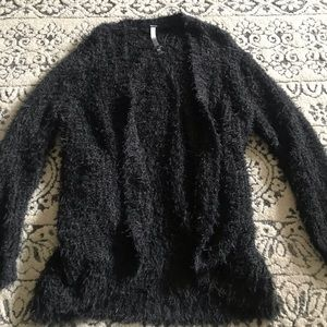 Kensie furry cardigan